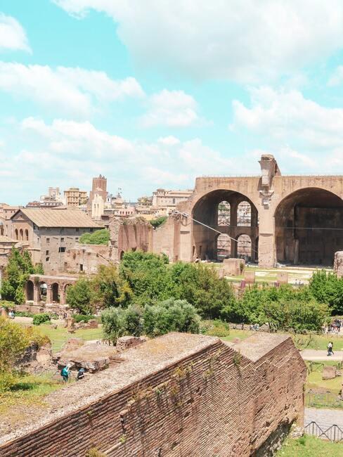 Zdjęcie ruin Forum Romanum
