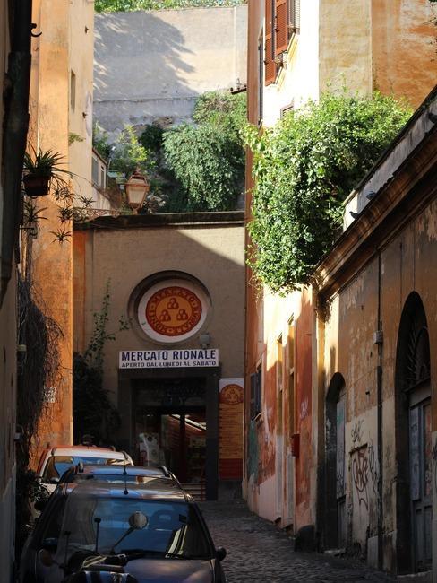 Zdjęcie rzymskiego, lokalnego rynku