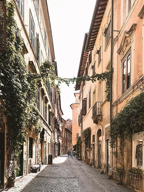 Zdjęcie rzymskiej ulicy