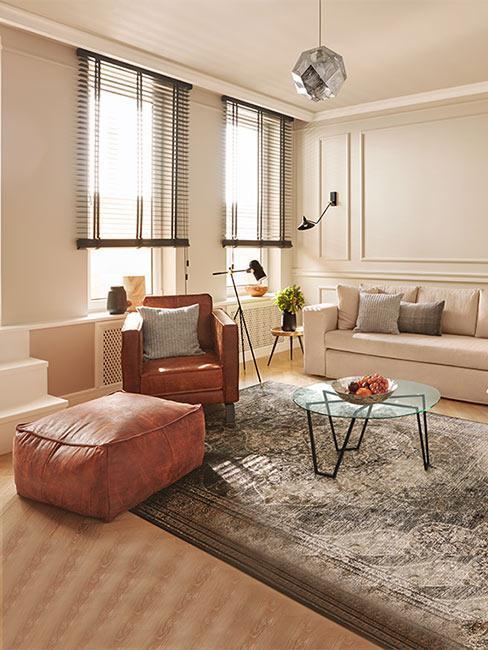 Przytulny pokój w łagodnych kolorach