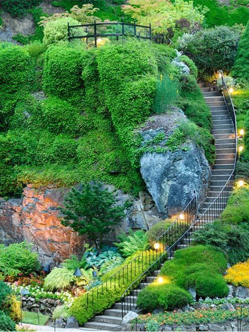 Ogród botaniczny Butchart Gardens w Kanadzie