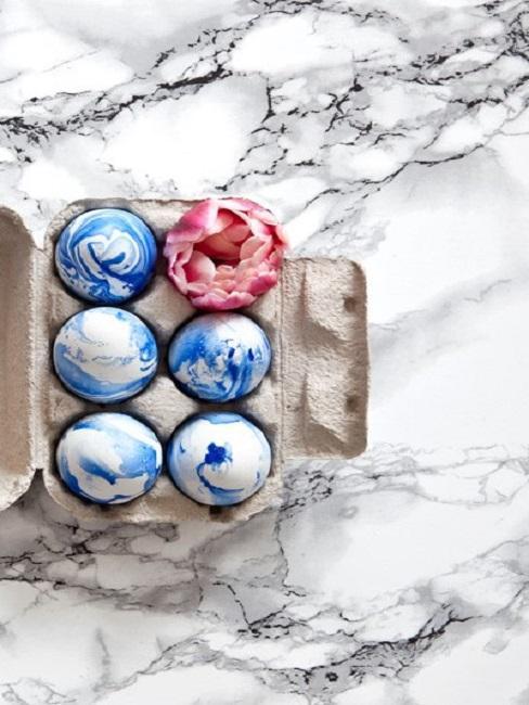 marmurowe jajka
