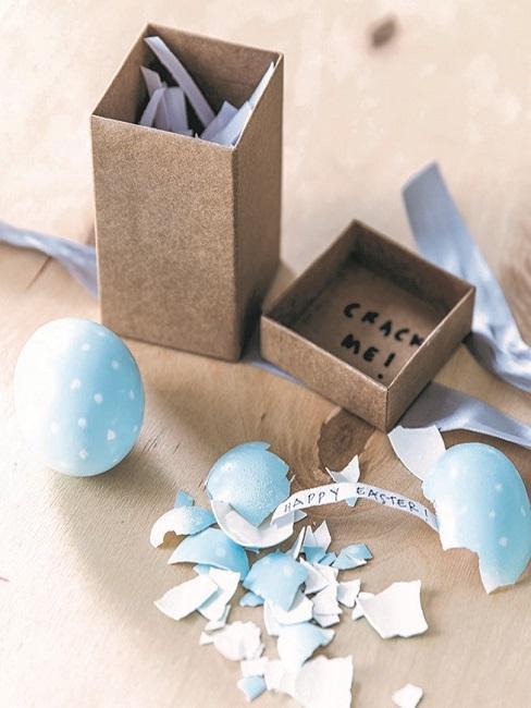 Ręcznie robione jajko niespodzianka