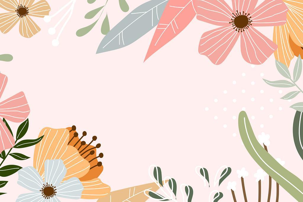 Pastelowe tło zoom z kolorową zastawą stołową