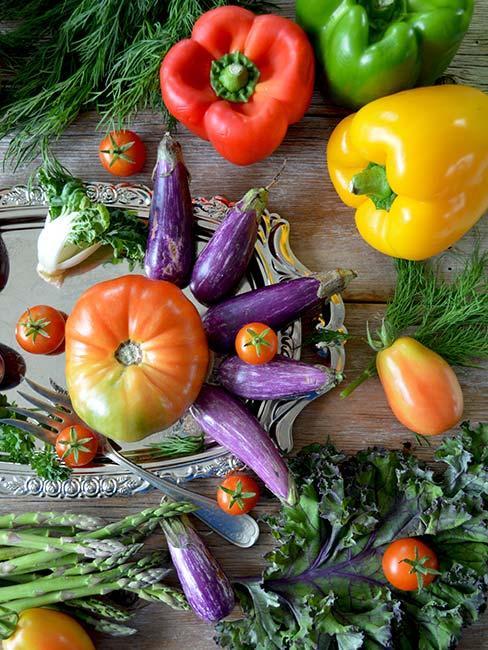 Papryka, pomidor, cukinia i inne warzywa