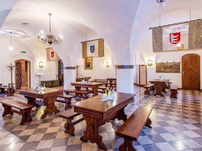 Restauracja w Zamku w Tykocinie