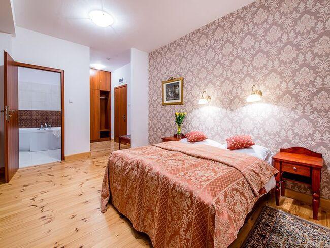Pokój w hotelu Zamek w Tykocinie