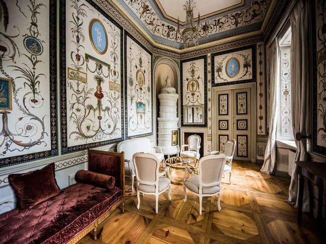 Sala Pompejańska w Pałacu Mała Wieś