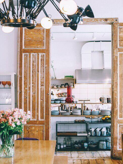 Kuchnia w rustykalnym stylu Prowansji
