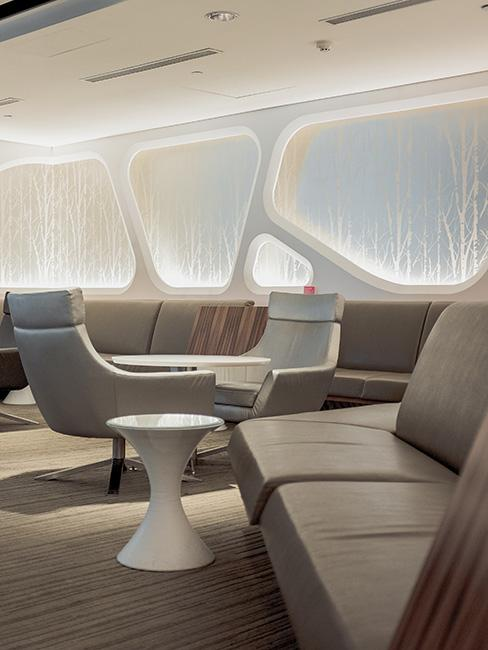 nowoczesne wnętrza w stylu futurystycznym