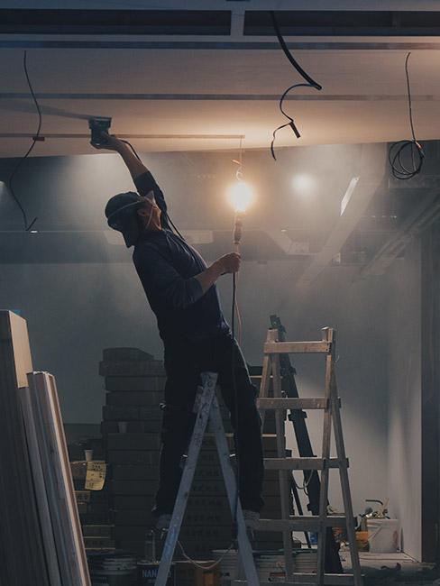 remont sufitu podwieszanego