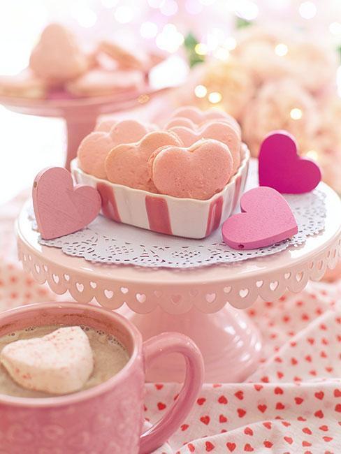 Ciasteczka w kształcie serduszek
