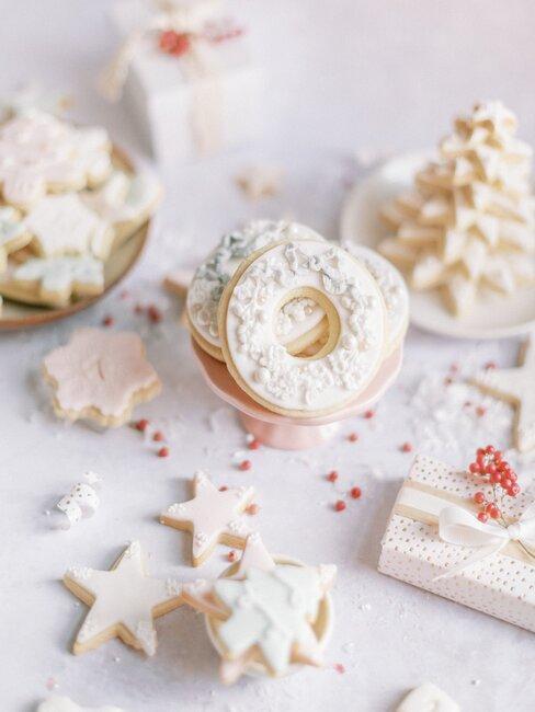 Białe ciasteczka