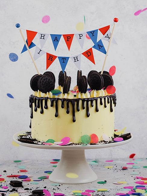 Tort jako prezent na urodziny