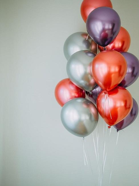 Balony jako prezent na 25 urodziny