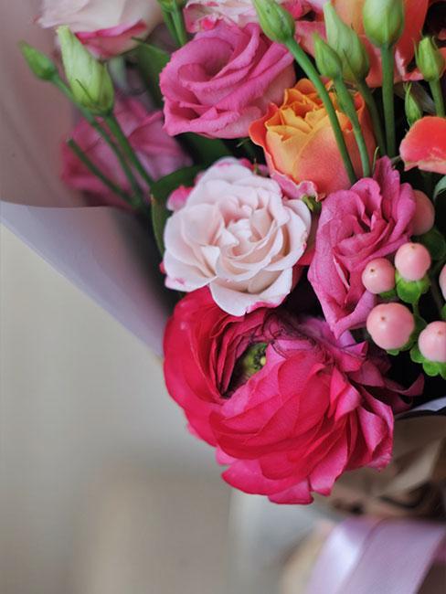 Kwiaty jako prezent na 40 urodziny