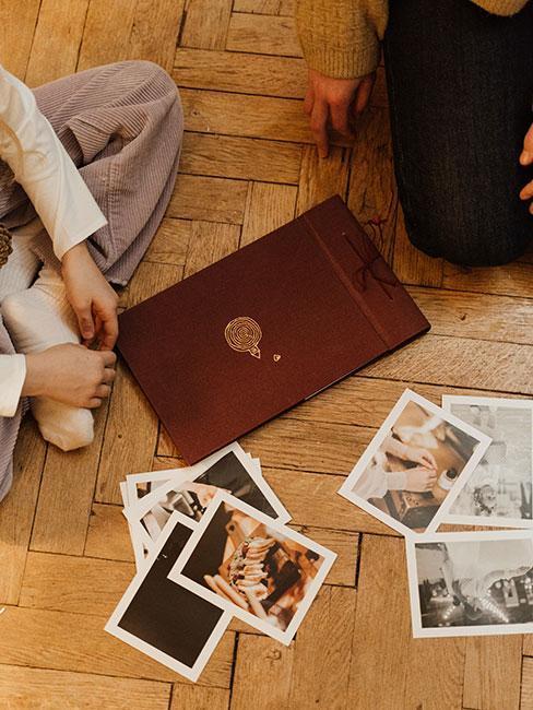 Album ze zdjęciami jako prezent na 40 urodziny