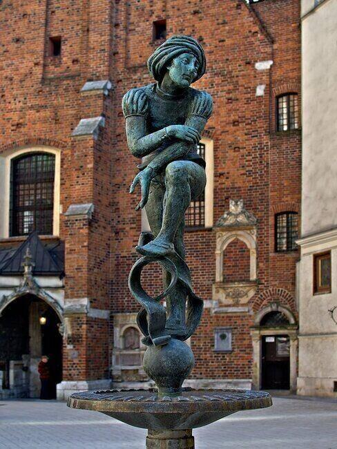 Posąg żaka