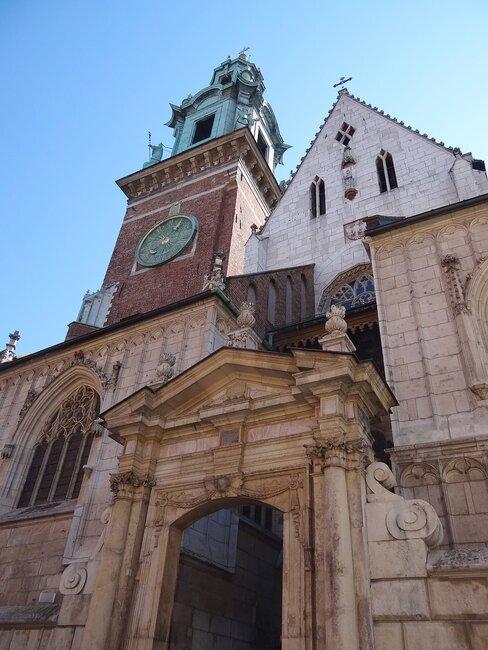 Kościoły na starówce Krakowa