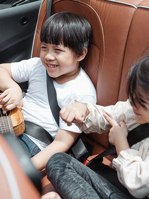 Przewożenie dzieci w samochodzie