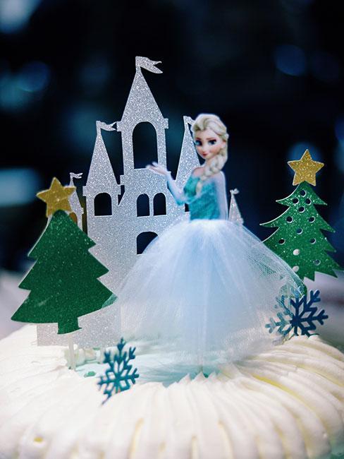urodziny dla dzieci z motywem Frozen