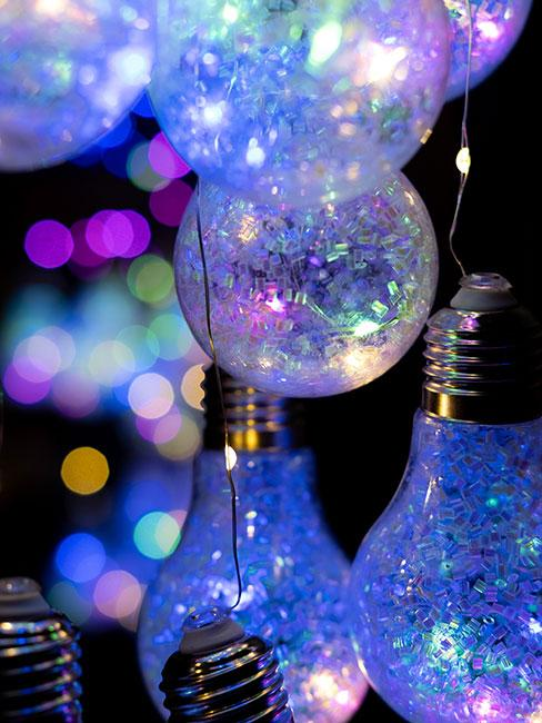holograficzne lampki na urodziny dla dzieci