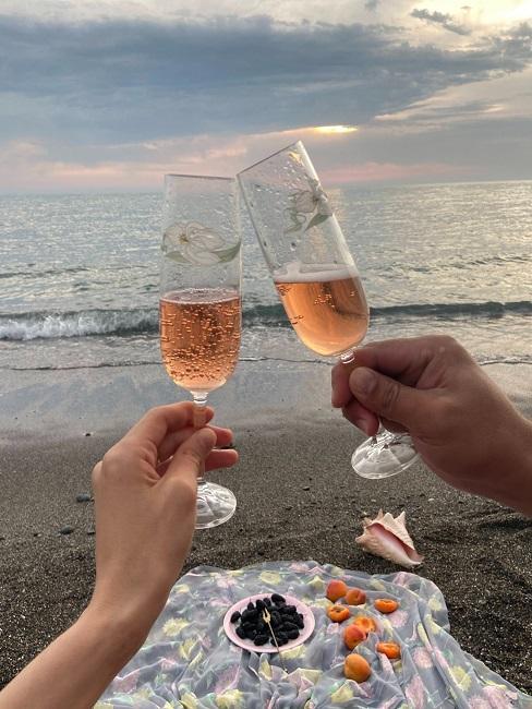Wyjazd nad morze na 3 rocznice ślubu