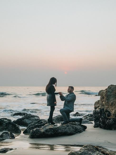 Zaręczyny nad morzem