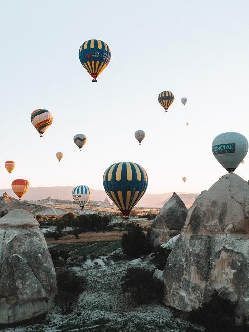 Latające balony w Kapadocji