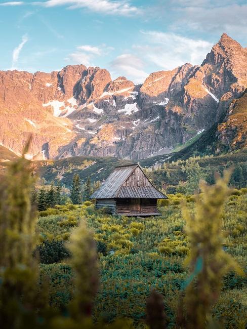 Chatka w Tatrach