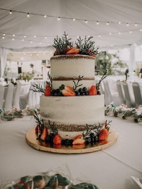Tort weselny na 50 osób