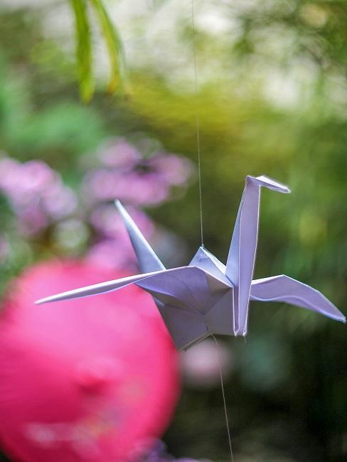 Łabędź z origami