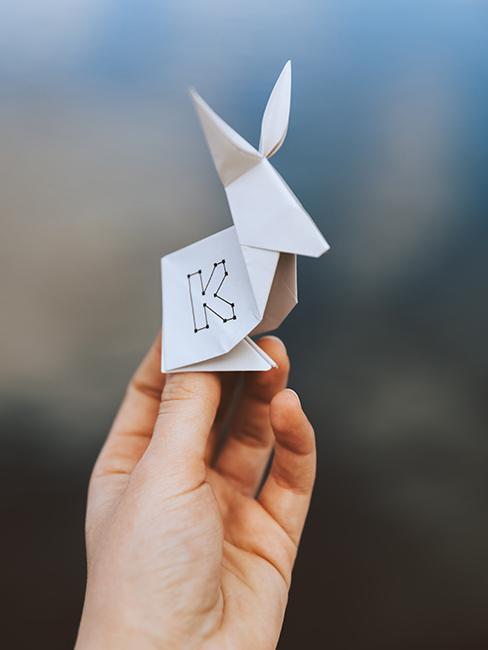 Jak zrobić origami królika