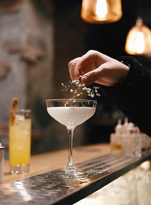 drink z ginem New Orleans Fizz