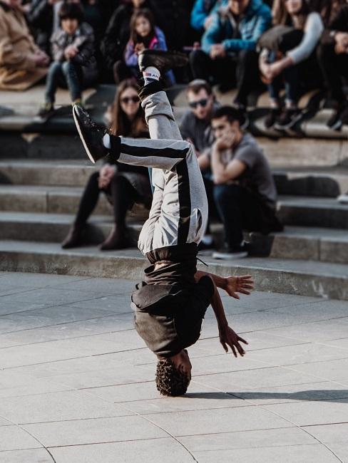 Break dance jako rodzaj tańca