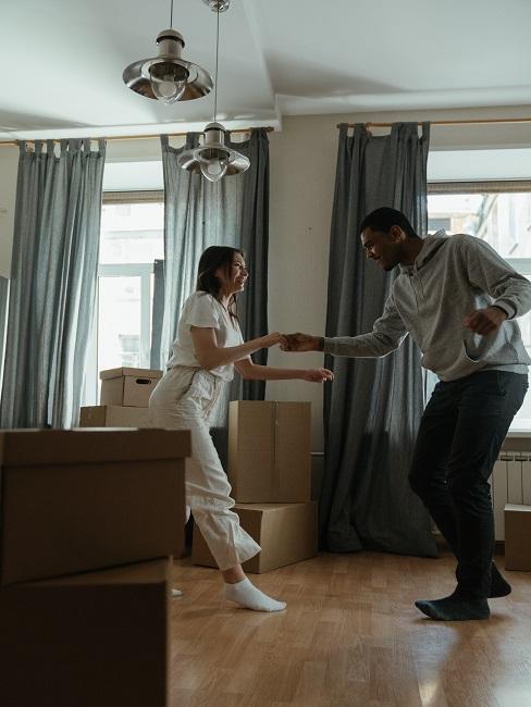 Nauka tańca z własnym partnerem