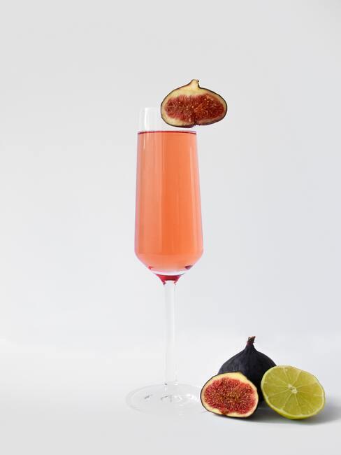Drink z prosecco i figą
