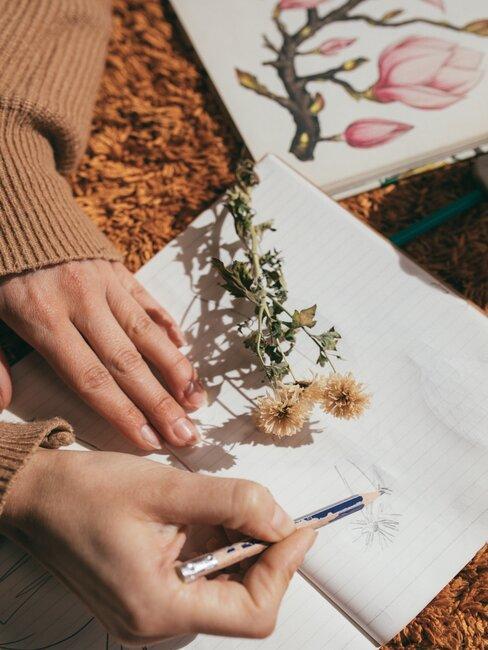 Rysowanie kwiatów