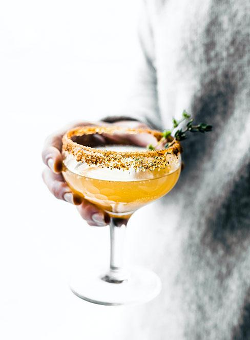 drink quarantini z miodem i vitaminą c
