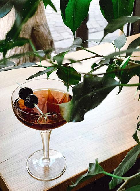 Drink Manhattan z whisky