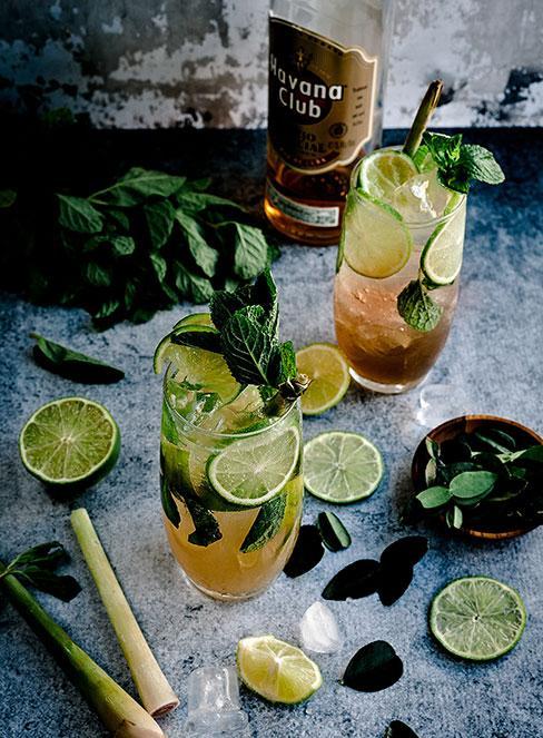 drinki mojito z rumem