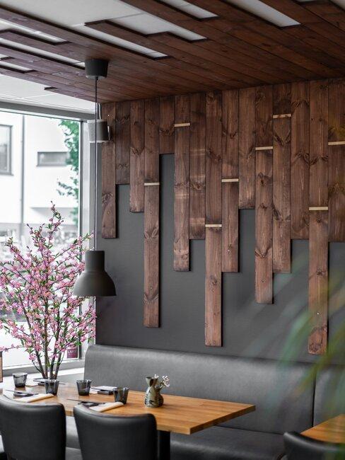 Wnętrze pomieszczenia urządzonego w stylu japońskim