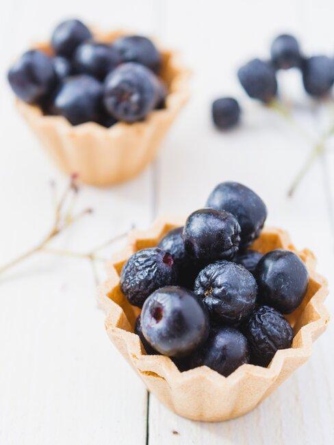 Babeczki z owocami aronii
