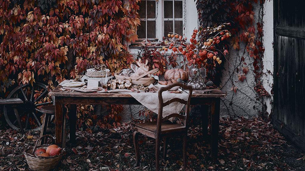 jesienny ogód
