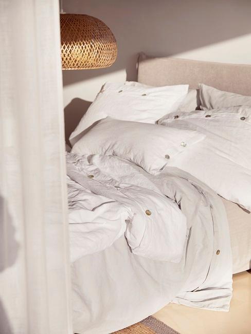 Sypialnia w kolorach ecru