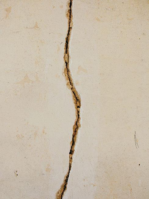 przerwa w ścianie