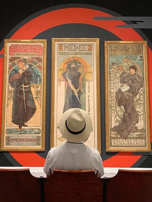 plakaty alfonso mucha w stylu art nouveau