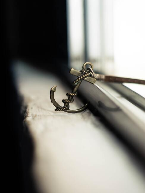 co kupić na dzień chłopaka: Brelok do kluczy w kształcie kotwicy