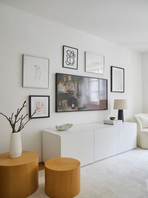 Abstraktné obrazy do obývačky