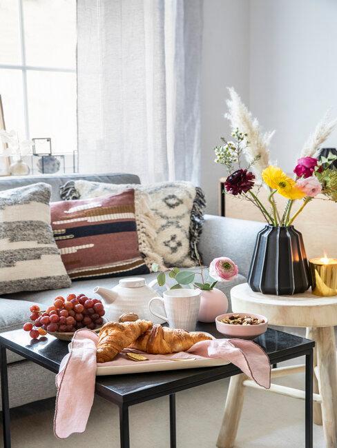 Boho kvety do obývačky